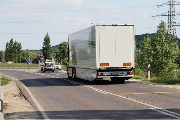 A kamionos aerodinamika első fontos eleme az örvények leválasztása