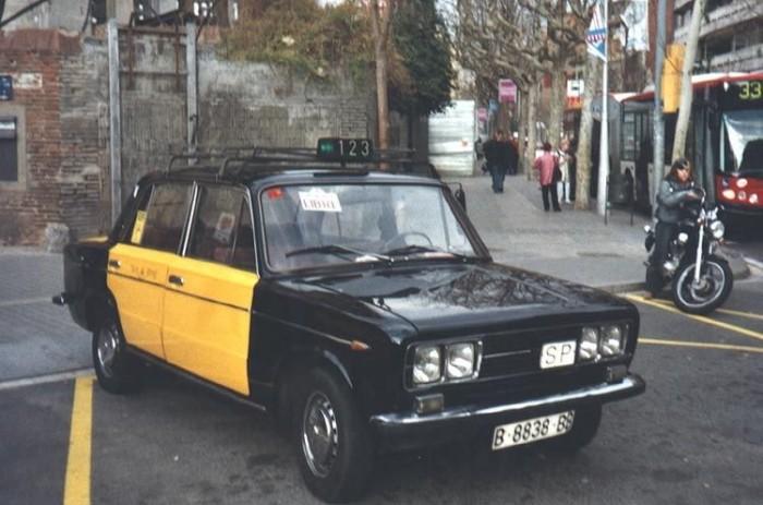 Taxi Barcelonában