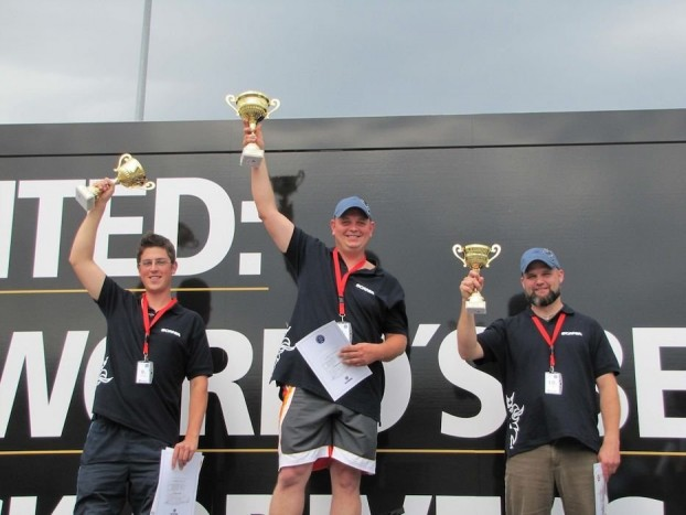 Első helyen Simon Zoltán, másodikon Szabó Attila, harmadikon pedig Buzás Zoltán végzett