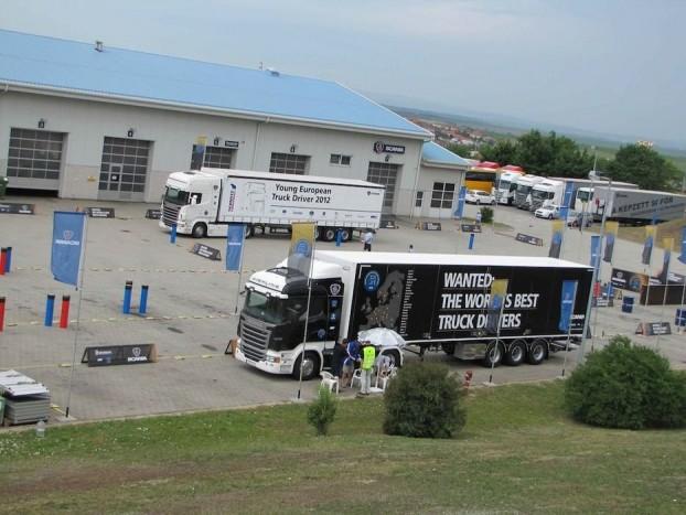A Scania biatorbágyi telephelyén zajlott a döntő