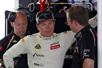 F1: Mi van a csapat és Räikkönen között?