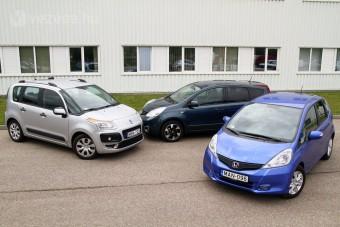 Teszt: takarékos családi autók