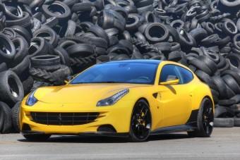 Sportfokozatban a Ferrari FF