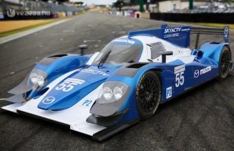 Világsztárral debütál a Mazda versenydízel