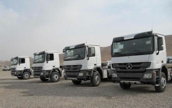 250 új, Euro 2-es Actros érkezett Irakba