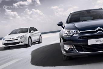Frissülnek a Citroën nagy autói