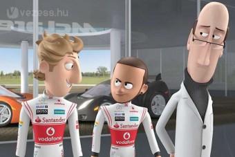 F1: Rajzfilmre váltott a McLaren