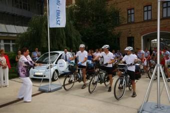Elektromos bringával az olimpiára