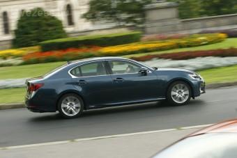 Lexus GS: 345 lóerő, 8,5 literes fogyasztás