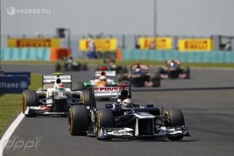 F1: A Williamsnél nem siránkoznak