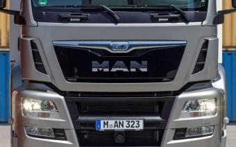 MAN kamionok és buszok új terméklogóval