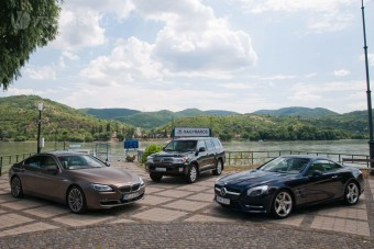 640d, 350 SL, Land Cruiser V8: luxus, háromféleképpen