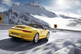 Porsche 911 hóra, vízre