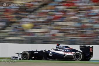 F1: Lendületben maradna a Williams