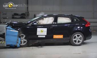 Volvo V40 a legbiztonságosabb autó?