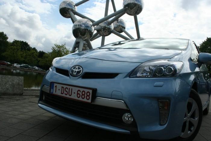 Brüsszeli próbaút: Toyota Prius Plug-in Hybrid