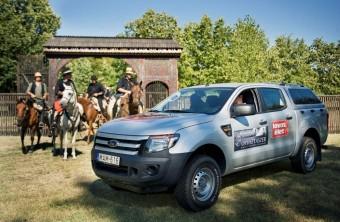 Magyar lovasokat kísér Horvátországba a Ford Ranger
