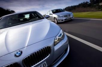 A BMW veri az Audit és a Mercedest