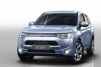 Jön a 2 litert fogyasztó Mitsubishi