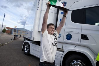Ír versenyző viheti haza a kamiont