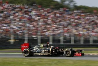 F1: Räikkönen rosszkor bújt Alonso mögé