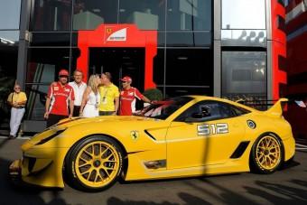 400 milliós Ferrari a Google-vezérnek
