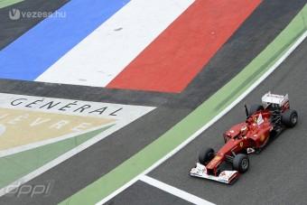 F1: Nem osztottak új lapokat a teszten
