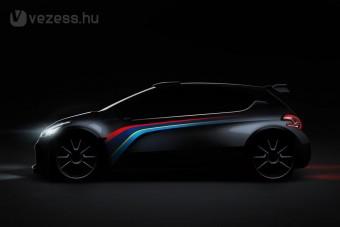Magyar az új Peugeot versenyautó