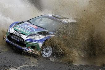 Tartja előnyét a Ford a Wales-ralin