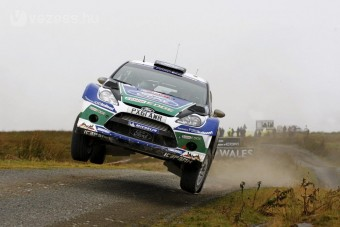 Ford-siker a Wales-ralin
