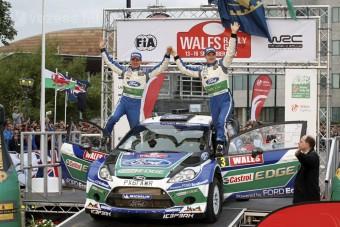 Videón a Ford walesi győzelme