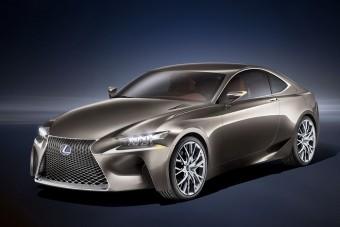 Hibrid kupé a Lexus jövője