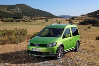 Caddy-vel lesz teljes a VW Cross-palettája