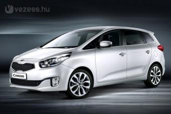 Új családi autó a Kiától