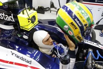 F1: Senna megégett a futamon