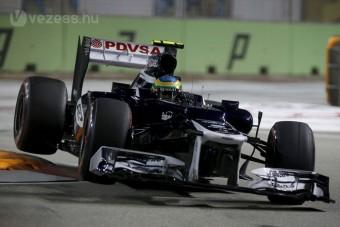 F1: Nem a KERS égette meg Sennát