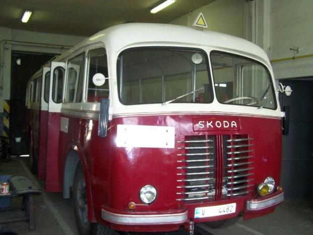 Szeptember 22-én Liberecben is látható volt ez a Skoda 706RO