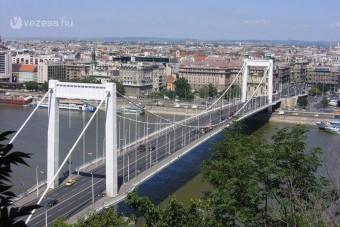 Torlódás várható az Erzsébet hídon