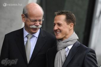 F1: A Mercedes nem hibáztatja Schumit