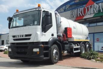 Tíz új Iveco Budapest tisztaságáért