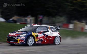 Lassan kezdett Loeb a hazai versenyén