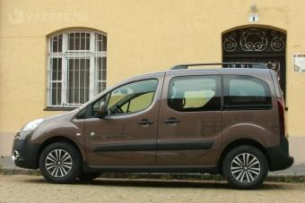 Teszt: Peugeot Partner Tepee 1,6 HDi Outdoor