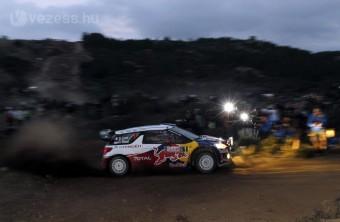 A Citroën vezet a Szardínia-ralin