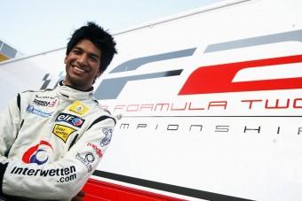 A Williamsnél tesztelt az F2-es bajnok