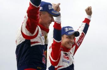 Videón Hirvonen első Citroënes győzelme