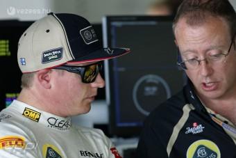 F1: Räikkönen tojik a szimulátorra