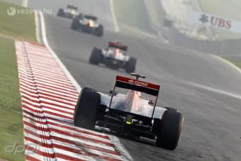F1: Marad a két DRS-zóna Indiában