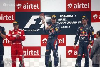 F1: Alonso mindent megtett, de Vettel győzött