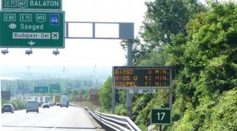 Figyelik az autósokat Budapesten