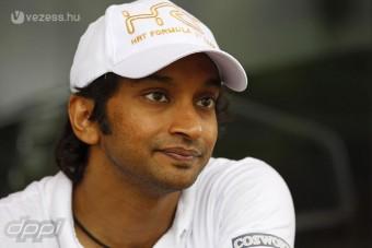 F1: Karthikeyant nem izgatta az ajándék pont
